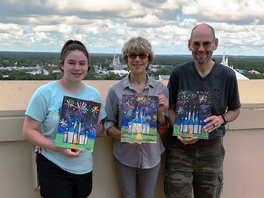 Membership Extra Review:  DVC Painting with a View