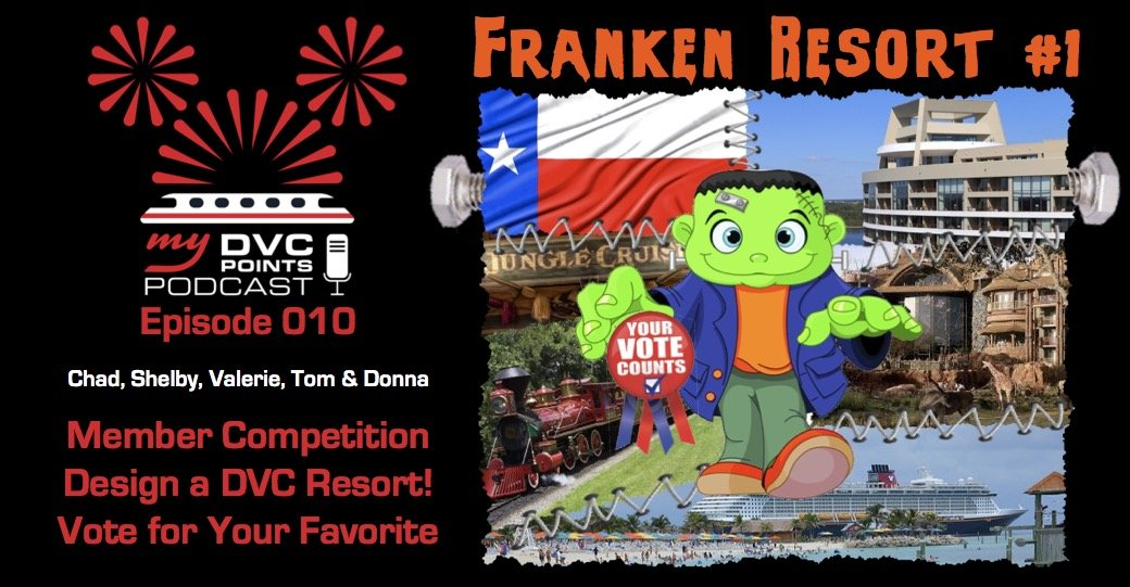 010 Franken Resort – Member Mashup Competition – Create a New DVC Resort