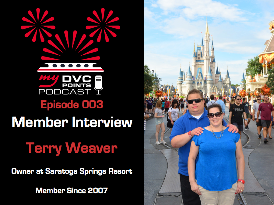 003 DVC Member Interview Terry Weaver Owner at SSR