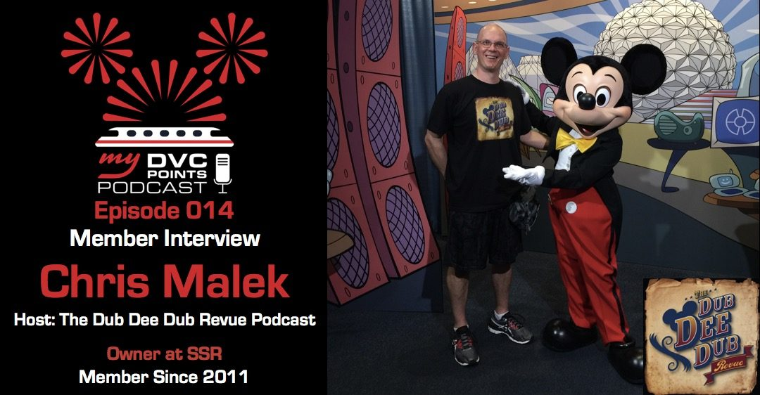 014 DVC Member Interview Chris Malek Owner at SSR and Host of The Dub Dee Dub Revue Podcast
