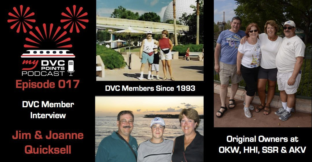 017 Member Interview Jim and Joanne Quicksell Owners at OKW, HHI, SSR and AKV