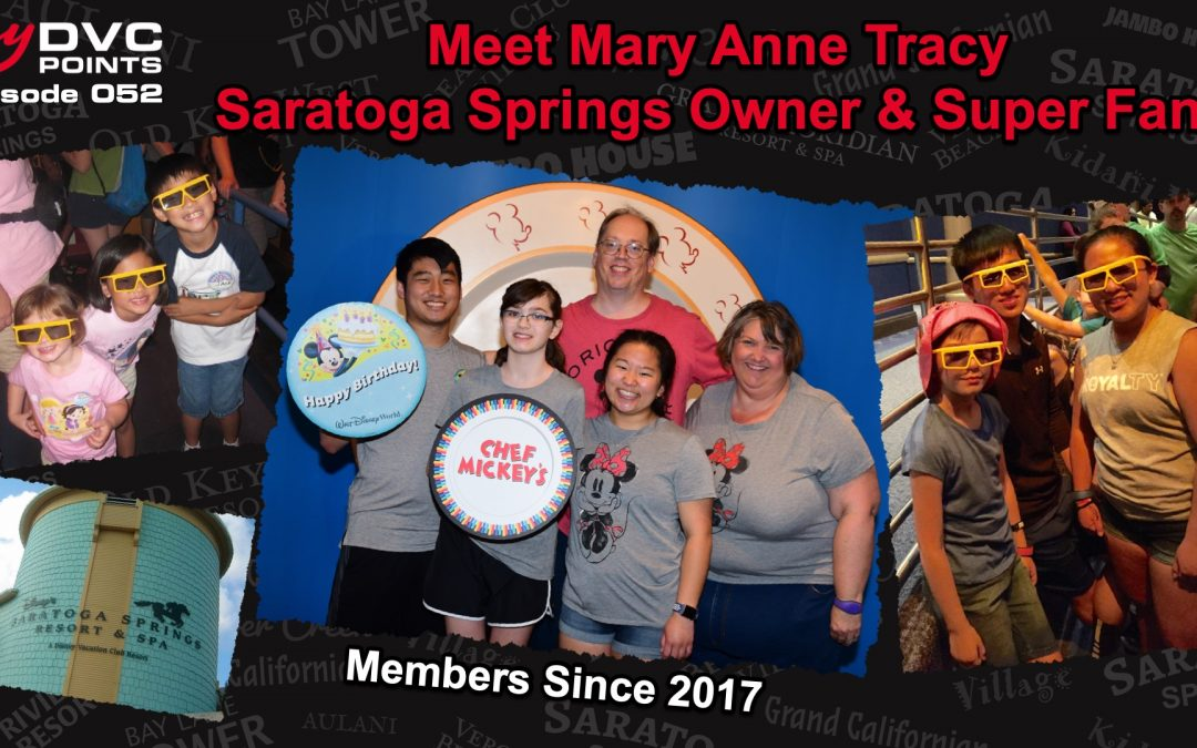 052 Meet Mary Anne Tracy Owner at Saratoga Springs Resort Since 2017