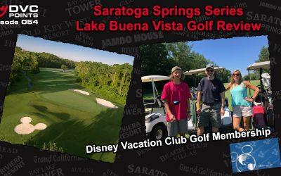 054 SSR Series – Lake Buena Vista Golf Course Review