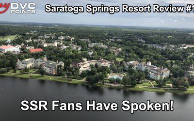 062 Member Review: Saratoga Springs Resort – Part 1