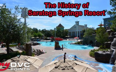 060 The History of Disney's Saratoga Springs Resort and Spa