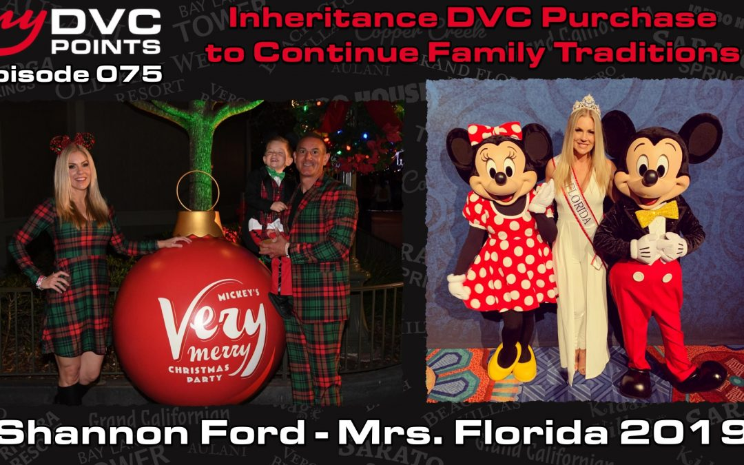 075 Enjoying DVC as a Local, Family Connections Through Disney, and Eating Gluten-Free at WDW with Shannon Ford, Owner at Saratoga Springs Resort