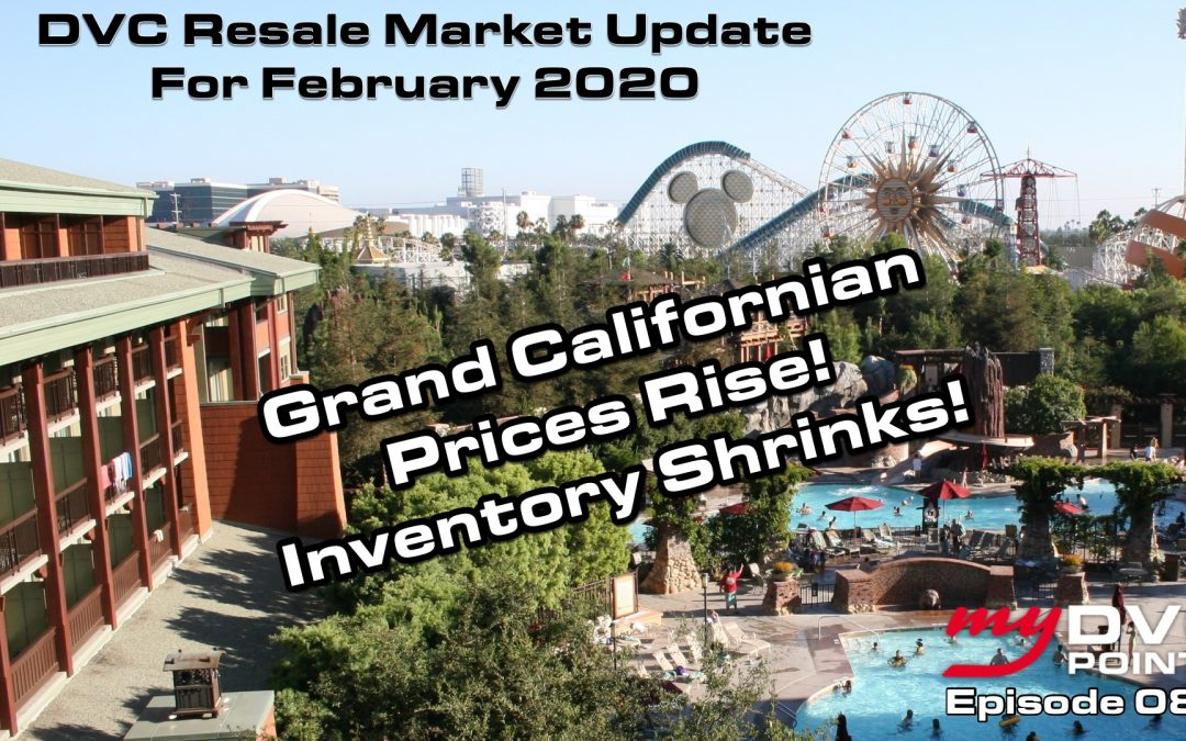 080 DVC Resale Market Update for Feb 2020