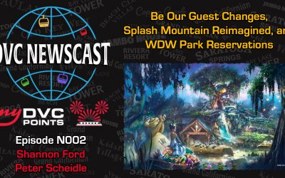 N002 Splash Mountain Retheming, Be Our Guest Drops Breakfast and New Park Reservation System Opening Day Issues