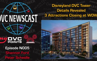 N005 Disneyland DVC Tower Details Revealed and 3 Attractions Closing at WDW