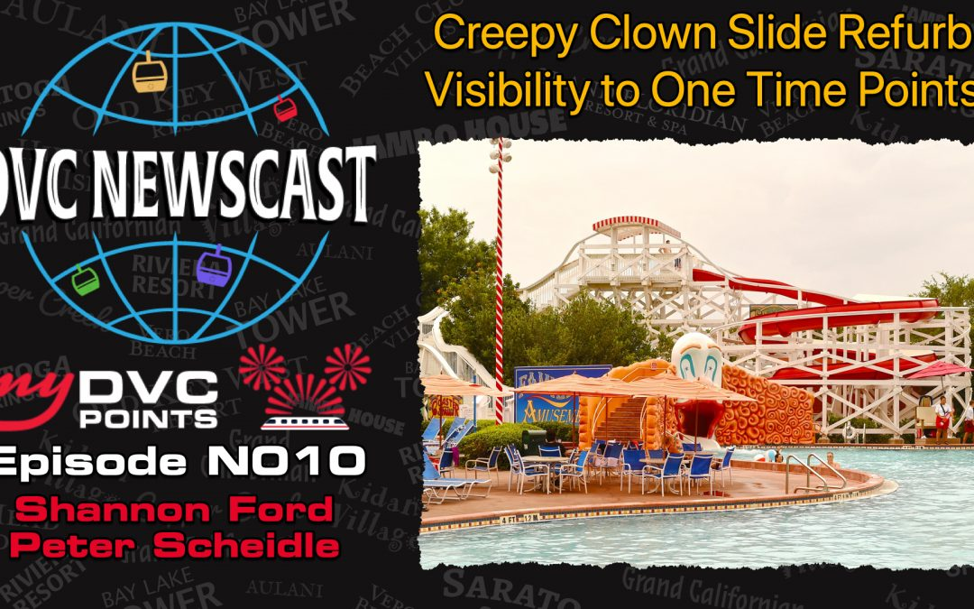 N010 Creepy Clown Slide Refurb and Visibility to Transferred Points
