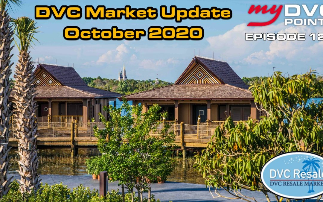 124 DVC Market Update for October 2020