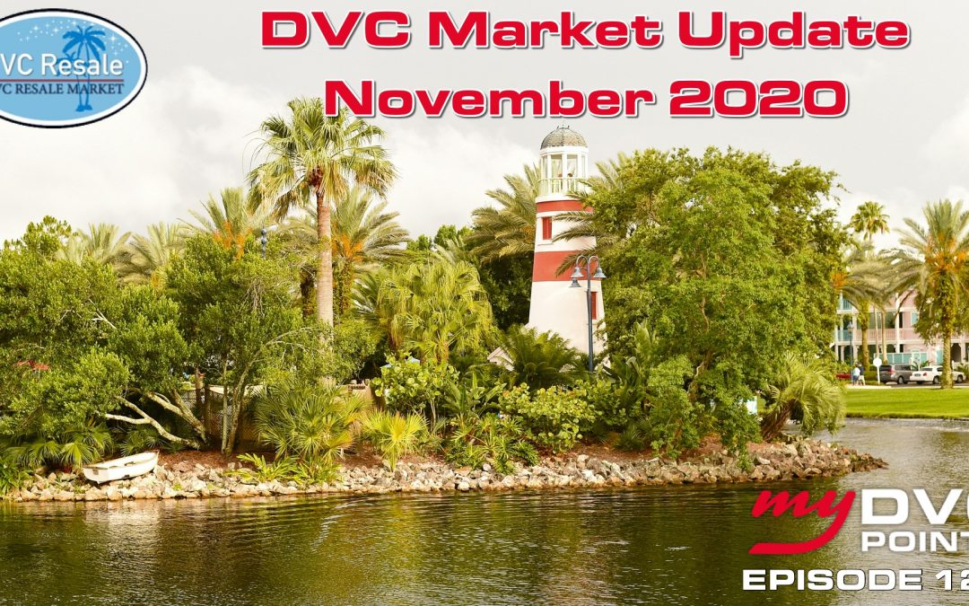 128 Monthly DVC Resale Market Update for November of 2020