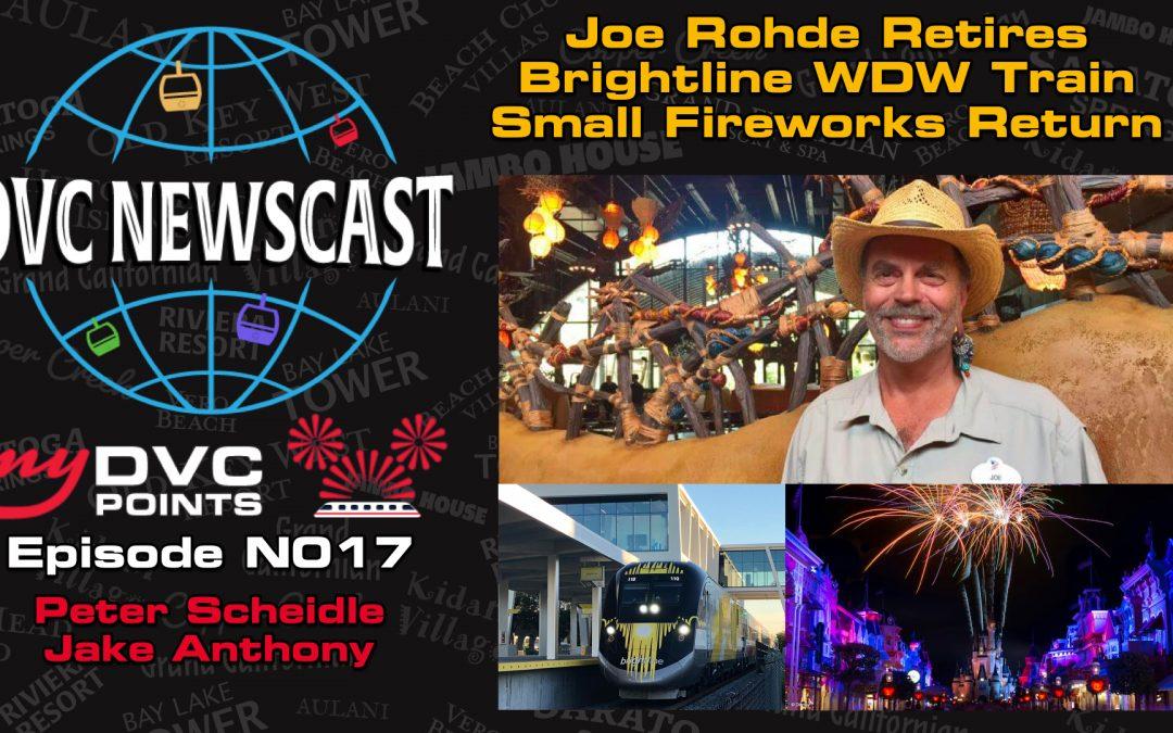 N017 Brightline Station Coming To Walt Disney World, Joe Rohde Announces Retirement, & Small Fireworks Return To Magic Kingdom
