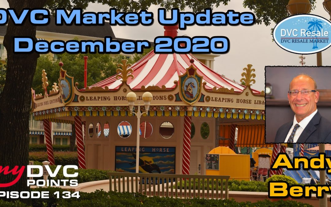 135 DVC Resale Market Recap for December 2020