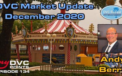 135 DVC Resale Market Recap for December 2020