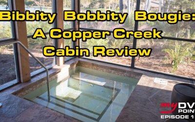 140 Bibbity Bobbity Bougie: A DVC Cooper Creek Cabin Review