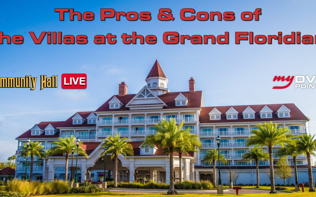 C033 Top 10 Reasons to Stay at Grand Floridian