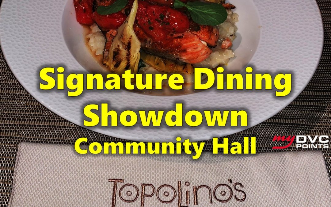 C034 What Is the Best Signature Dining Meal?