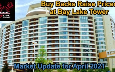 152 DVC Resale April 2021 is Strong Sellers Market