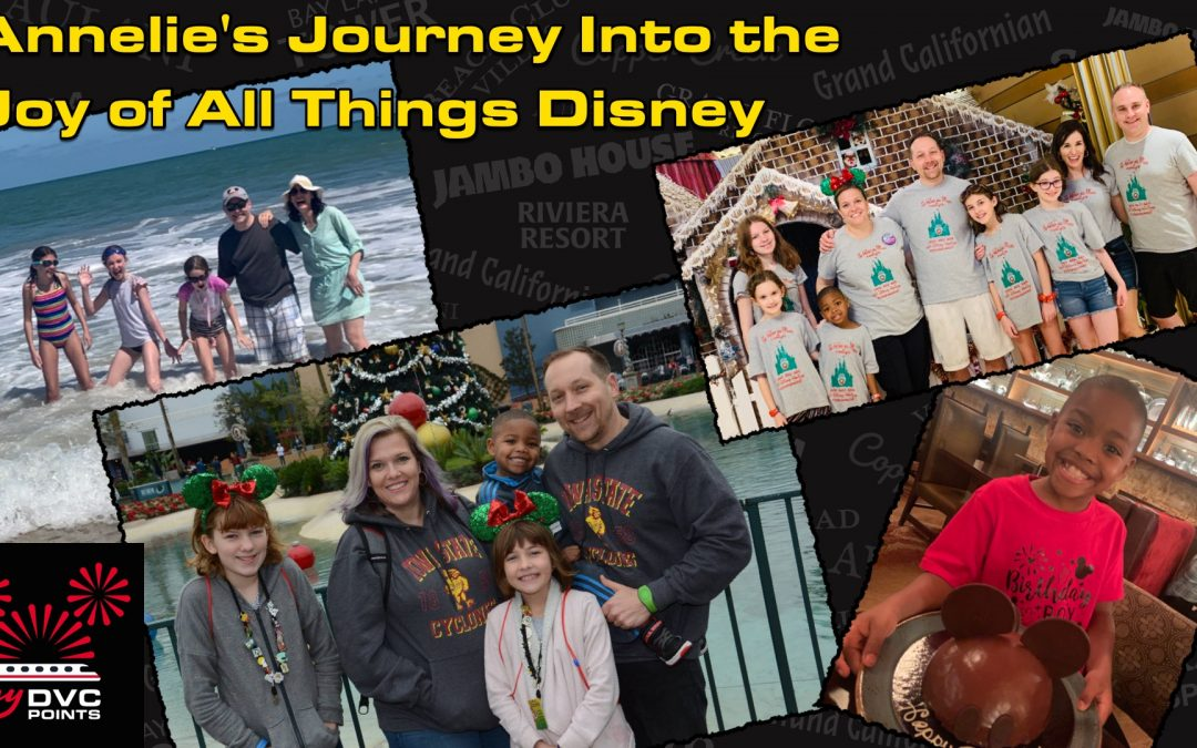 Annelie's Journey Into the Joy of All Things Disney