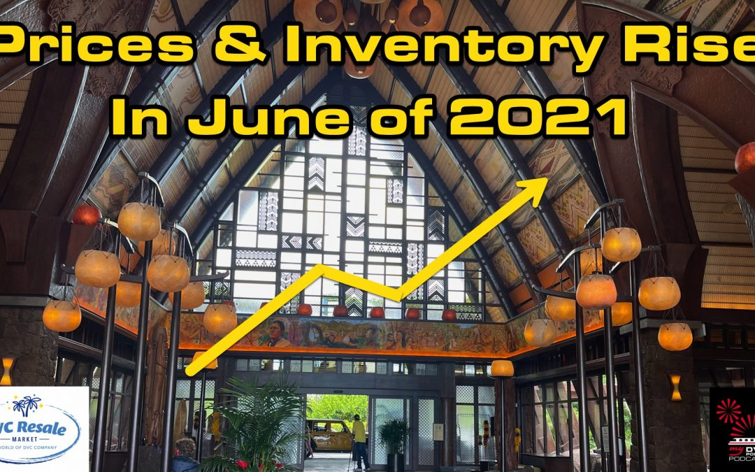 Prices and Inventory Both Rise in June 2021